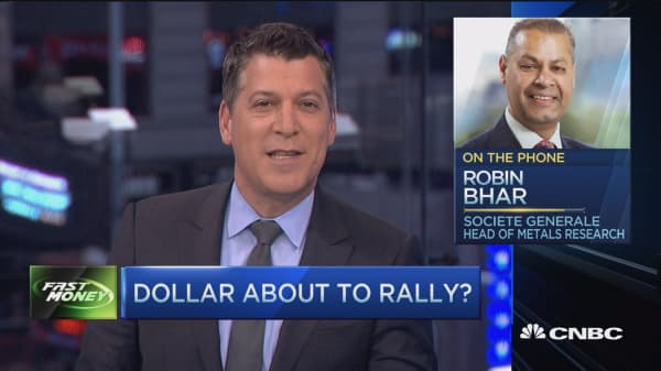 Dollar bottom in?