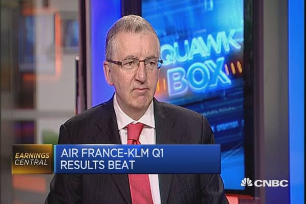 Air France-KLM posts first quarter loss