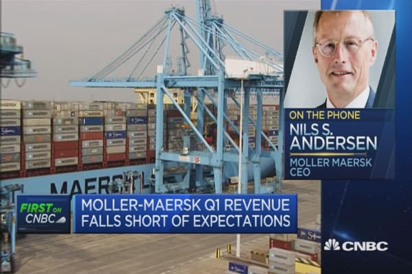 Thing have gone well in Q1: Moller-Maersk CEO