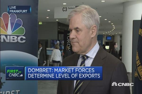 I defend the ECB's independence: Bundesbank's Dombret