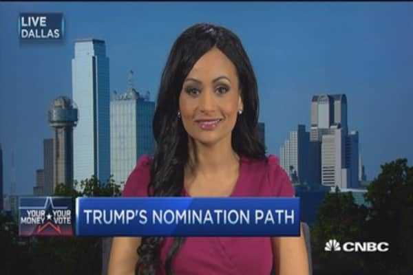 Trump's supporters 'locked in': Surrogate