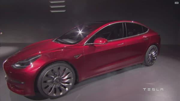 Tesla's market cap at roughly $30B