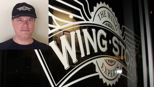 Dean Siracusa, co-owner of Wingstop, has three restaurants in the Reno area and is now scouting locations in Anchorage, Alaska.