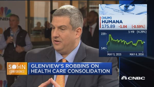 Glenview's Robbins on health care M&A