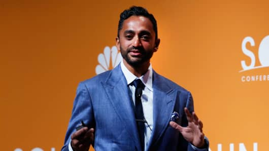 Chamath Palihapitiya speaking at the Sohn conference in New York, May 4, 2016