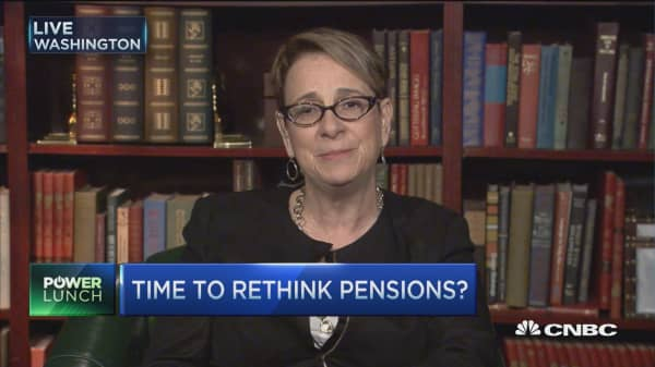 Time to rethink pensions?