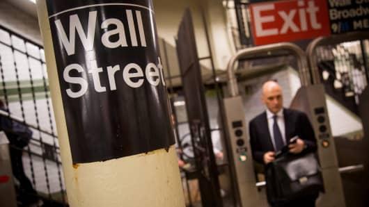NYSE wall street trader