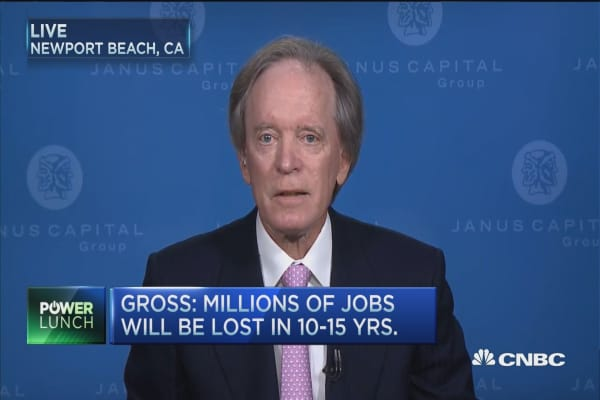 Gross: Millions of jobs will be lost to technology