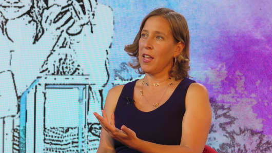 Susan Wojcicki, CEO of YouTube.