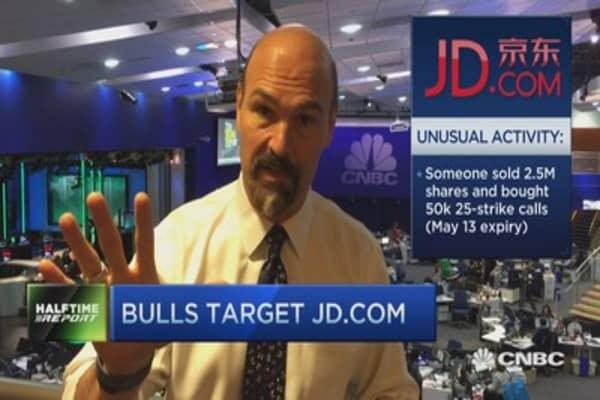 Bulls target JD.com