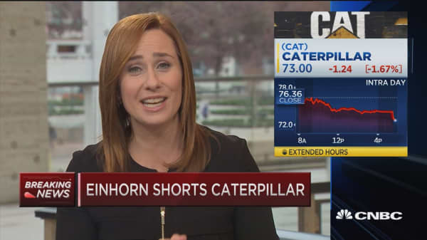 Einhorn shorts Caterpillar