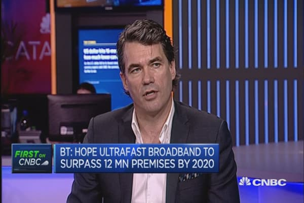 BT CEO on the rollout of ultrafast broadband