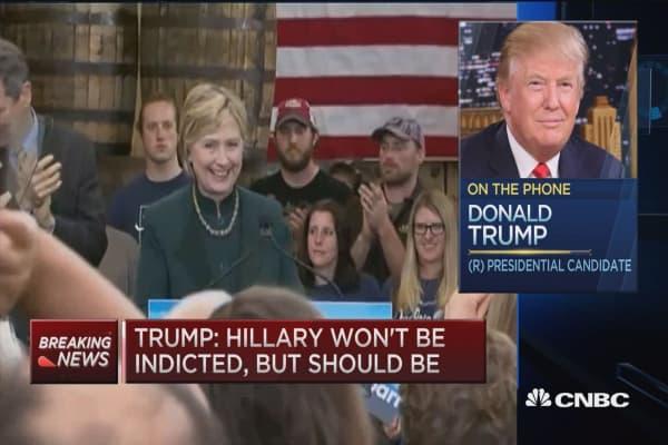 Trump: Political system rigged