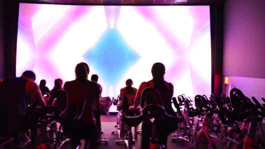 IMAX spin class
