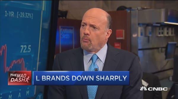 Cramer's Mad Dash: L Brands down sharply