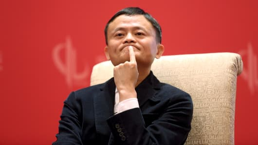 Founder and Executive Chairman of Alibaba Group Jack Ma