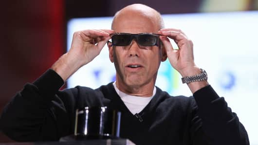 Dreamworks Animation CEO Jeffrey Katzenberg