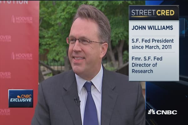 Fed's Williams: We shouldn't overreact to Q1 GDP data
