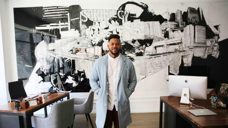 Keenan Beasley left a position as VP of marketing at L'Oreal to co-found The Strategy Collective, a marketing agency based in NYC.