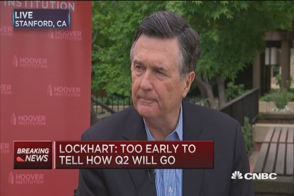 Fed's Lockhart: On the fence about June hike