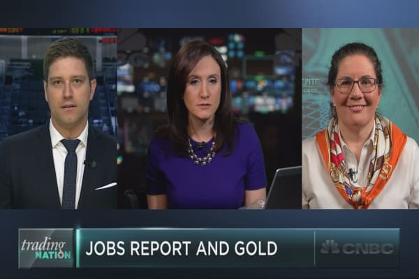 April jobs report could hurt gold's rally