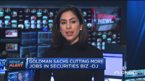 Goldman Sachs cutting more jobs: DJ