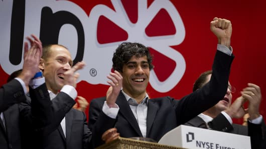 Yelp Shares Soar on Unexpected Profit and Eat24 Sale