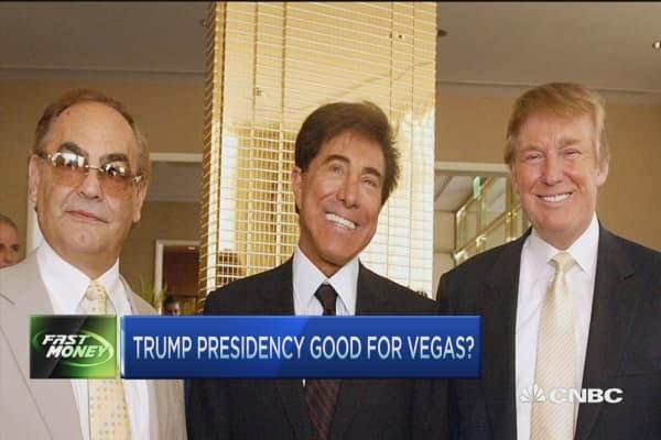 Trump presidency good for Vegas?