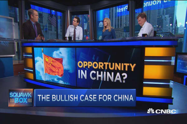 Bullish play on China