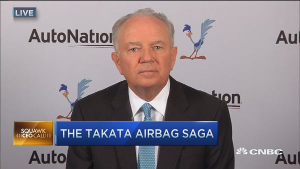 AutoNation CEO: Takata's 'fatally flawed' decision