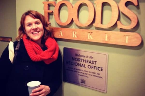Robyn Jasko's products are in Whole Foods stores in the tri-state area, among other retailers like Central Market, MOM's Organic Market, and Giant.