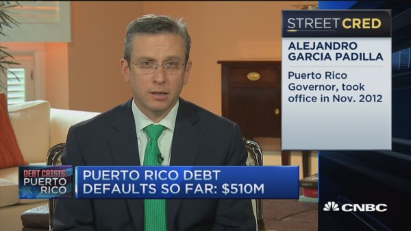 Puerto Rico Gov. on debt: This is mathematical issue