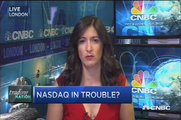 Trading Nation: NASDAQ troubles