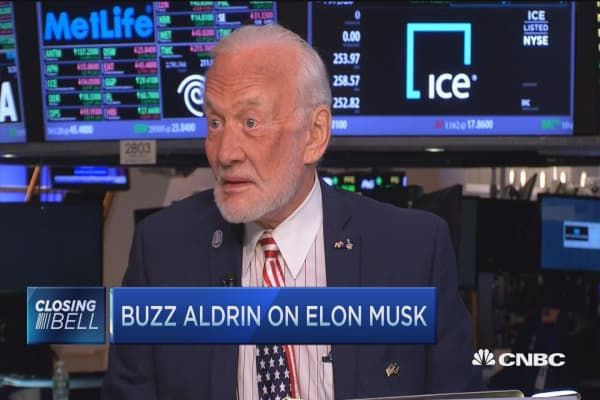 US will land on Mars within 2 decades: Buzz Aldrin