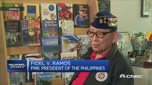 Interview with Fidel V Ramos PKG