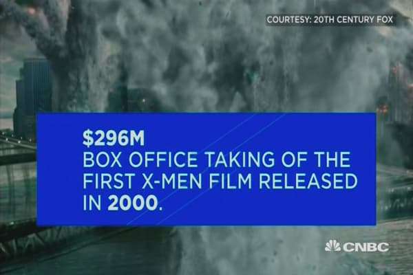 X-Men by the numbers