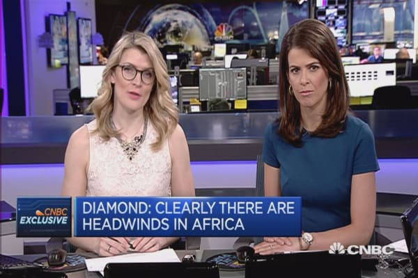 Clearly, there are headwinds in Africa: Diamond