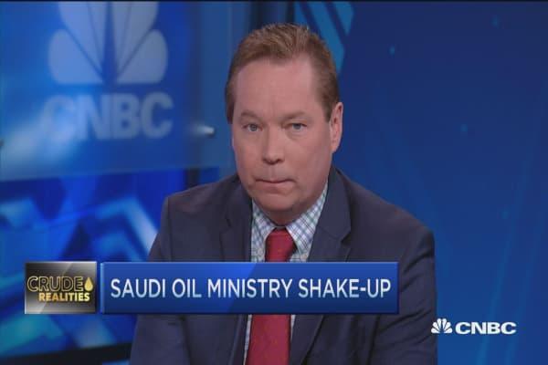 Saudi's oil ministry shake-up