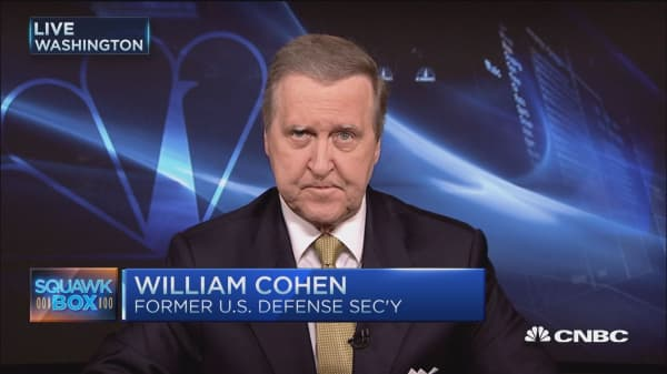 Defense spending about HOW we spend it: William Cohen