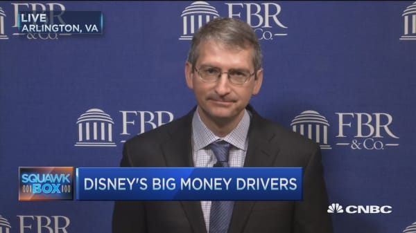 Disney's Marvel-ous money drivers