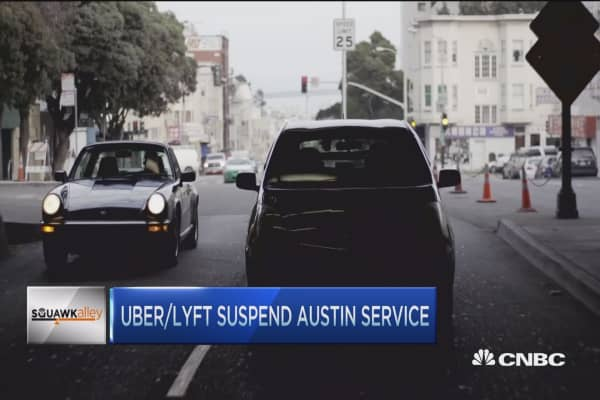Uber/Lyft lose in Texas