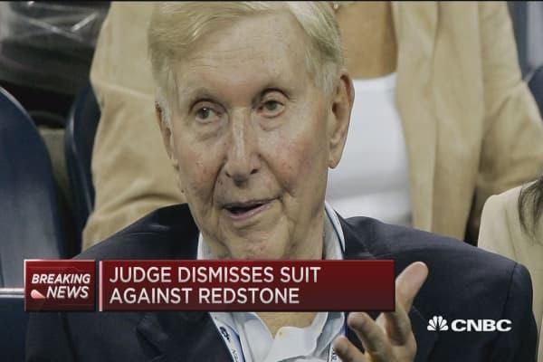 Judge dismisses suit against Redstone