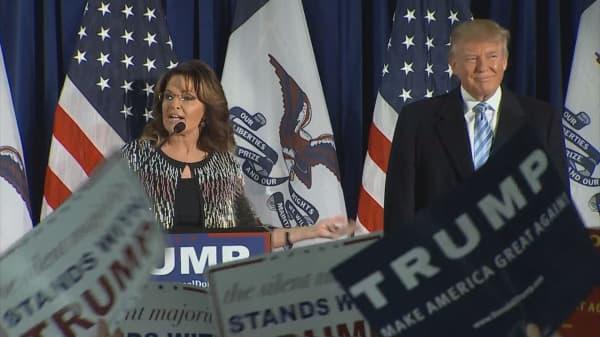 Sarah Palin criticizes Paul Ryan