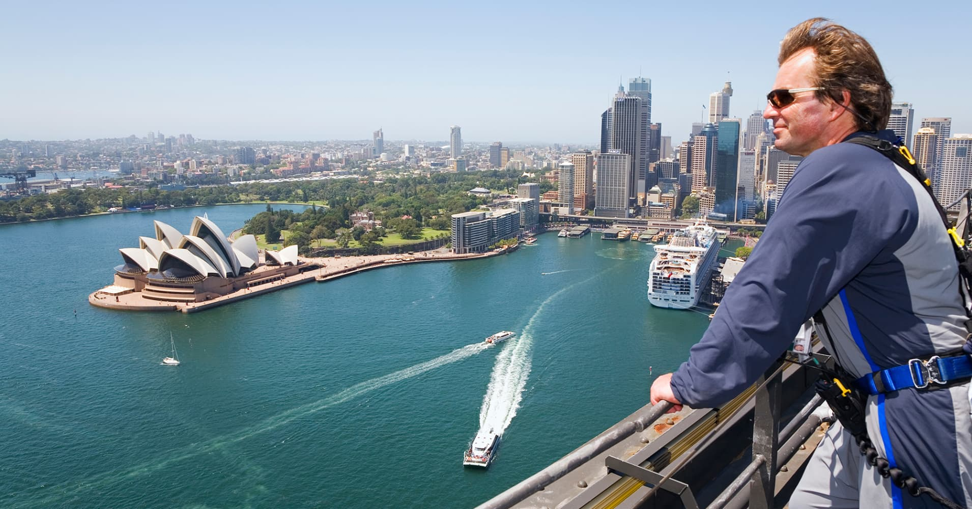 Sydney Harbor Bridge climb Australia Retirement Travel Trends Australia.