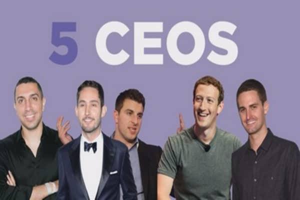 5 CEOs reach billion dollar success by age 30