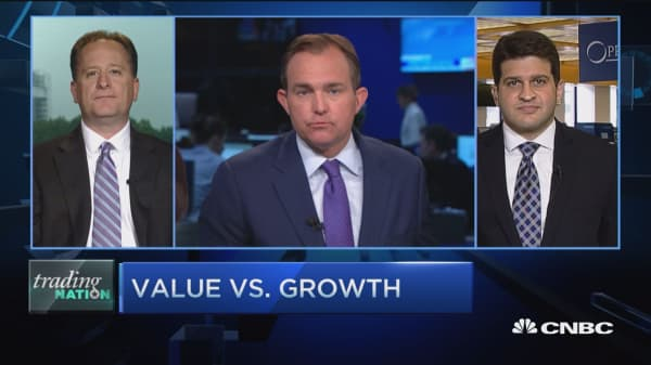Trading Nation: Value vs. growth
