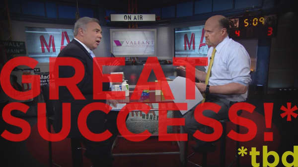 Cramer Remix: The biggest surprise since this CEO took over Valeant