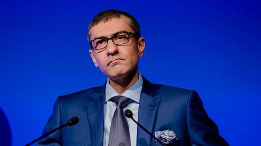 Rajeev Suri, chief executive officer of Nokia