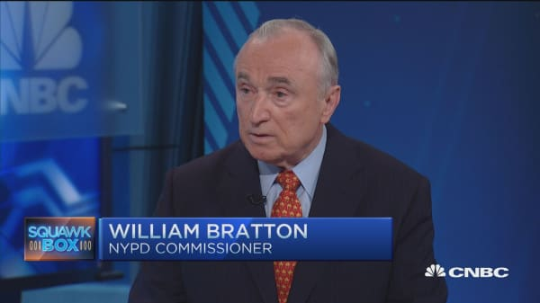 NYPD's Bratton: Not 'sneaking' into devices