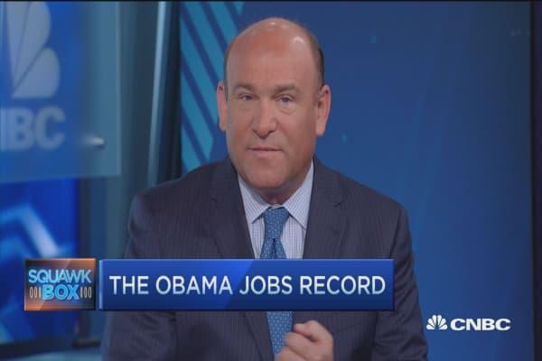 Obama's jobs record